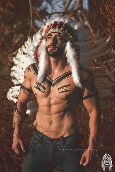 Cocar Indígena Tribo