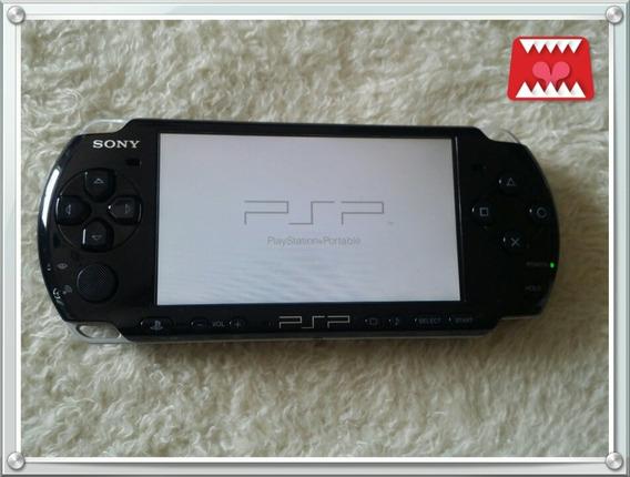 Console Psp 3010 Sony Completo + 4 Jogos Originais Psp(umd)