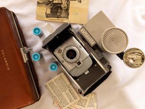 Camera Polaroid Modelo 80 - Com Caixa De Couro