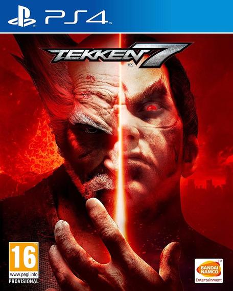 Jogo Mídia Física Tekken 7 Original Playstation 4