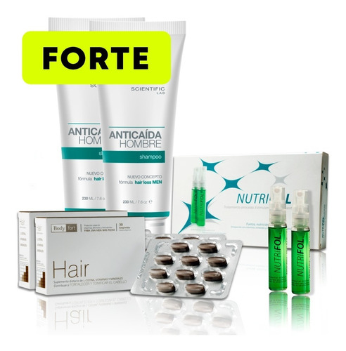 Pack Anticaída Hombre (forte) Hair Recovery