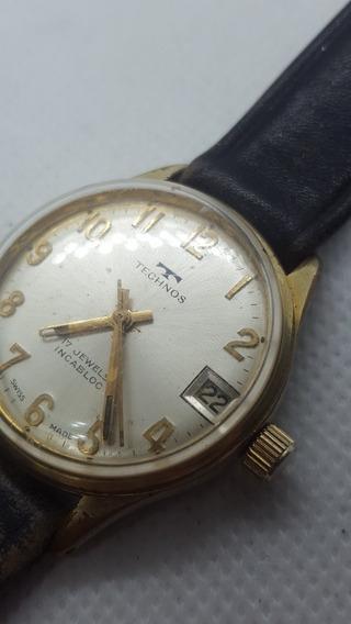 Relógio Technos Corda Manual - Vintage