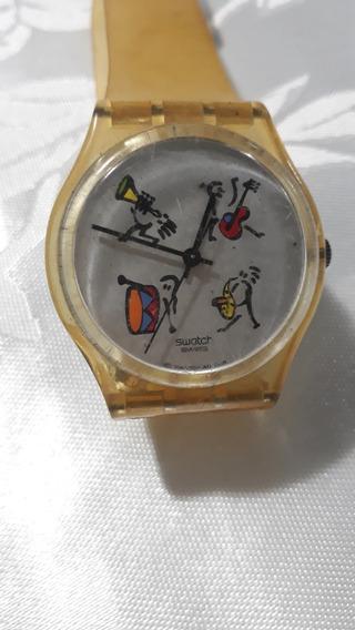 Relogio Lote 19 Vintage De Pulso Swatch Ag 2001