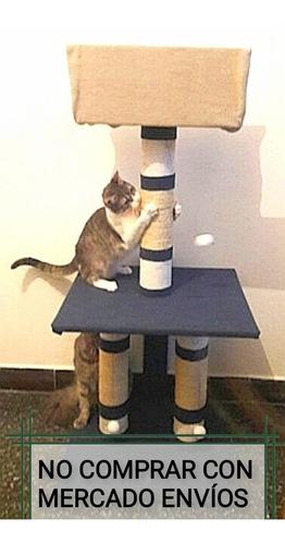 Rascadores Trepador Gatos Grandes 1,20m De Alto