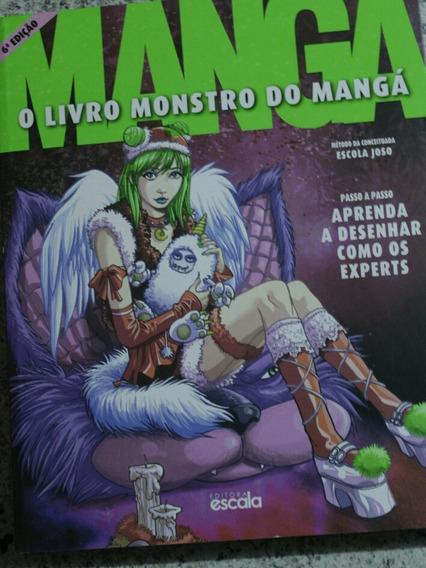 Curso Completo De Desenho + Livro Monstro Do Mangá 6 Edição
