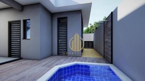 Imagem 1 de 30 de Casa Com 3 Suítes, Piscina E Área Gourmet - Condomínio Vila Romana - Ribeirão Preto/sp - Ca1526