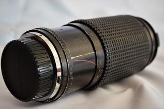 Lente Zoom Osawa Mark Ii, Incluye Filtro Uv Y Flash Minolta