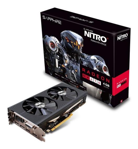 Placa De Video Radeon Rx 470 Nitro+ 4gb Oc