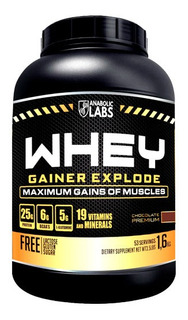 Whey Gainer Explode Anabolic Labs 1,6kg - Chocolate