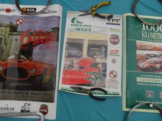 Poster Club Automovil Clasicos Sport Cartel Antigua Insignia