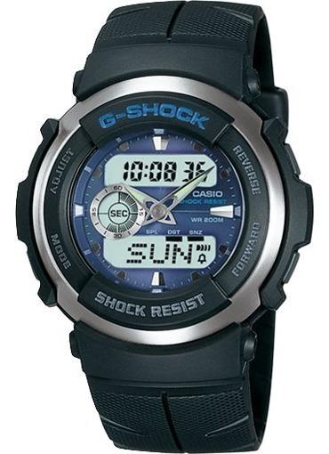 Relógio Casio G-shock G300 Azul 100% Original Imperdível !