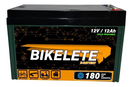 Bateria Ciclo Profundo 12v 12ah Bike Original