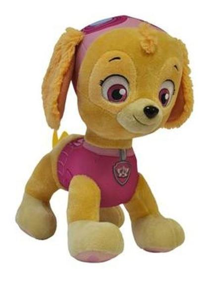 Boneco Pelúcia Patrulha Canina Skye 30cm Sunny Brinquedos