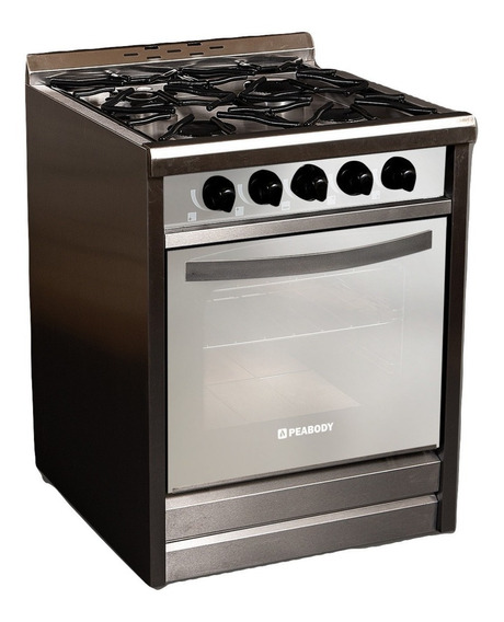 Cocina Industrial Peabody Pv600e 60cm 4 H Puerta Espejada