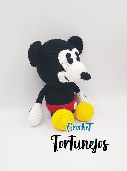 Mickey Mouse Amigurumi by VitaminJoyStitches on Etsy   Crochet ...   568x425
