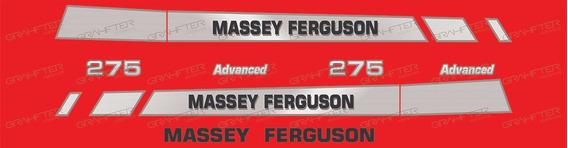 Adesivos Massey Ferguson 275 Advanced Capo E Teto