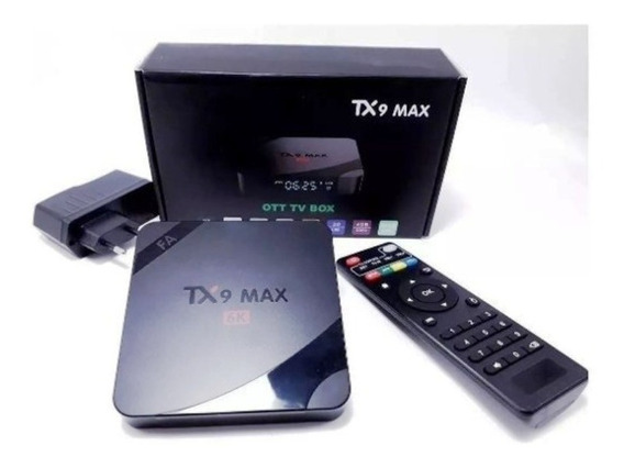 Box Tv Tx9 Max Android 9.0 64gb 4g Ram - Sua Tv Smart