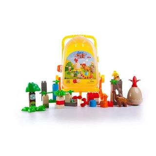 Juego De Ladrillos De Construcción De Plástico Para Niños!