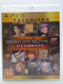 Dead Or Alive 5 Ultimate Favoritos Ps3 Original Mídia Física