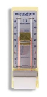 Termo Higrômetro Leitura Direta Bulbo Seco E Úmido 5203.03