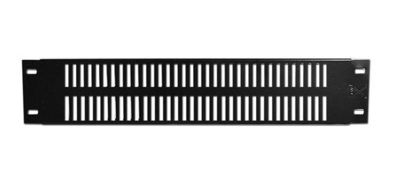 Chapa Panel 2 Unidades Para Rack De Ventilacion Jk4 Ch21