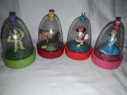 Burbujas Disney Set De 4 Mc Donalds Cajita Feliz