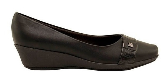 Zapatos Mujer Taco Chino Piccadilly Sintético Negro