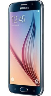 Samsung Galaxy S6 Flat 32gb Azul, Tela 5.1 Vitrine