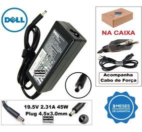 Carregador Para Notebook Dell 19.5v 2.31a 45w Novo!
