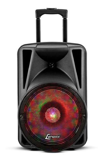 Cx Som Amplificadora Lenoxx Ca340 290w Bluetooth Usb - Preto