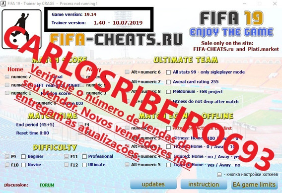 Fifa 19 Trainer Hack Coins - Ultimate Team