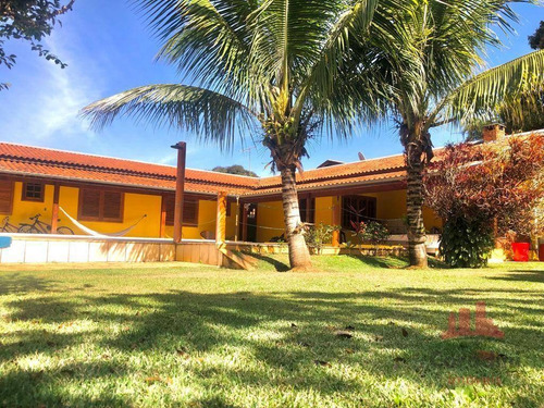 Imagem 1 de 20 de Chácara Com 4 Dormitórios À Venda, 1050 M² Por R$ 570.000,00 - Recanto Do Guarapari - Nova Odessa/sp - Ch0154
