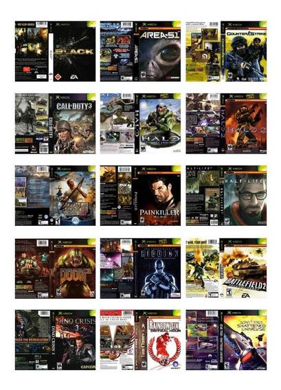 Xbox Clássico 1ª Geração Patchs Dvd-rom Lote 30 Unidades