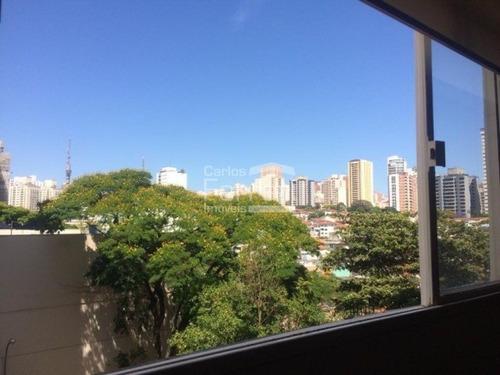 Imagem 1 de 13 de Apartamento 90m²- Reformado -vista Panorâmica- Perdizes - Cf34891