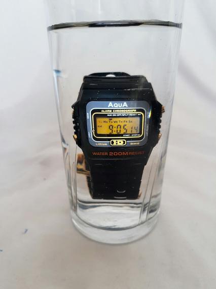 Kit 10 Relógio Aqua Aq 37 Prova D