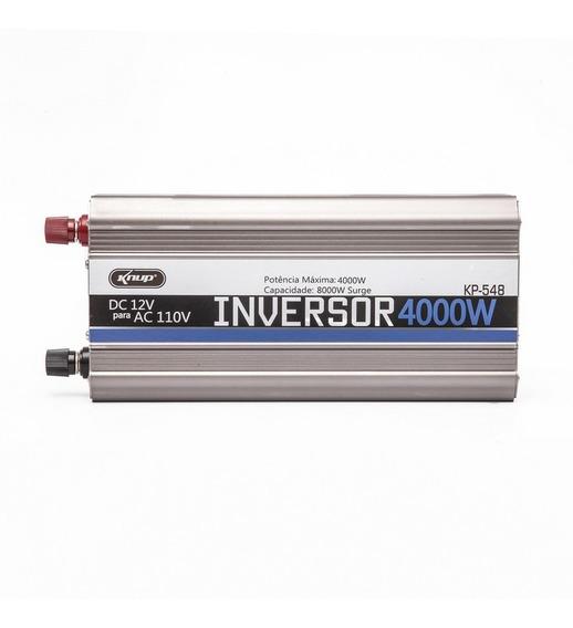 Inversor Conversor Veicular Potencia 4000w 12vp/110v Kp546a
