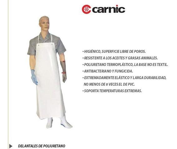 Delantal Carnicero Marca Carnic X 2 Unidades