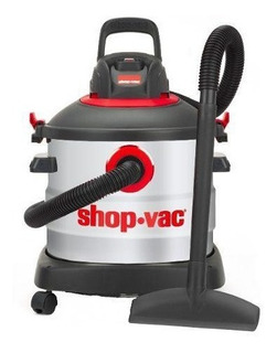 Aspiradora 8 Galones Acero Inoxidable 2 Hp Con Shop Vac Accs