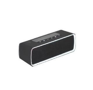 Parlante Rectangular Bluetooth Portatil Negro/blanco Kube
