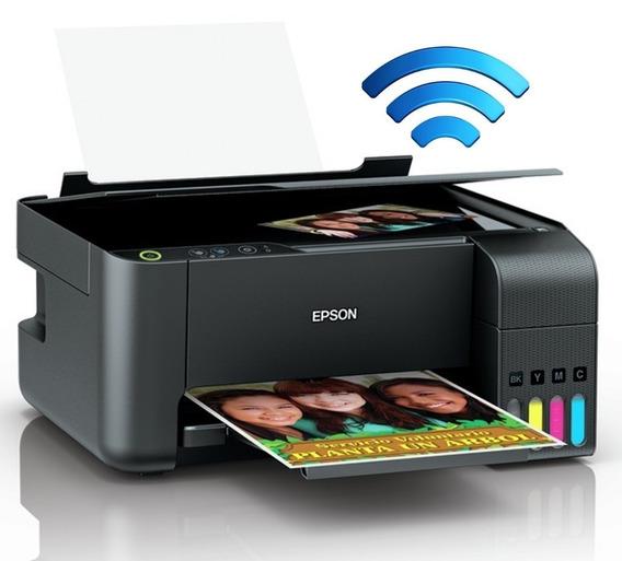 Impresora Epson Multifuncional L3150 Eco Tank Tinta Continua