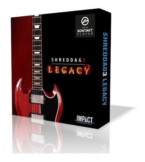 Librería Guitarra: Shreddage 3 Legacy - Gibson Sg Kontakt