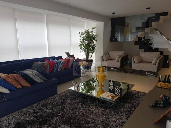 Cobertura Com 2 Dormitórios À Venda, 305 M² - Jardim - Santo André/sp - Co1121