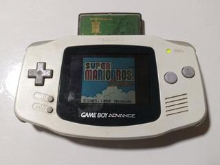 Gameboy Advance Con Juego Super Mario Bros Leer Descripcion
