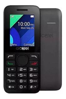 Celular Simples Alcatel 1054d 1.8 Dual Chip Lanterna Fm Nf-e
