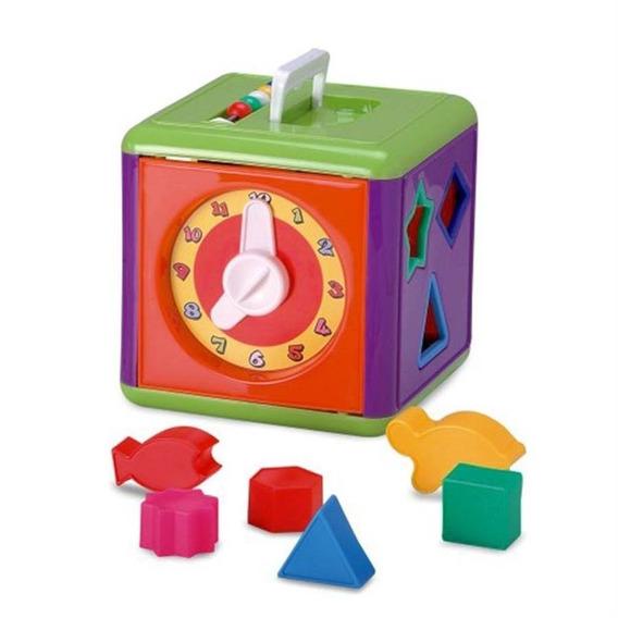 Cubo De Atividades Para Bebe Mega Cubo Jogo Encaixar