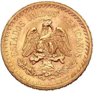 C M - Moeda México Ouro 1948