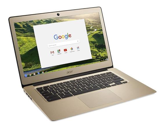 Laptop Acer Chromebook 14pulg Aluminio 4gb-ram Full Hd Intel