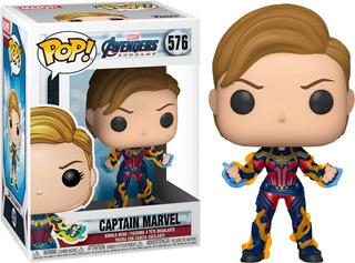 Funko Pop! Marvel #576 Endgame Captain Marvel Hair Nortoys