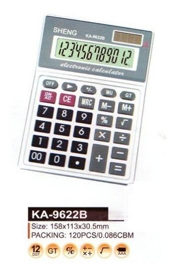 Lote Com 10 Calculadoras 12 Dígitos Sheng Atacado