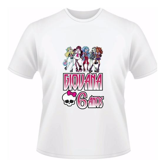 Camiseta Personalizada Monster High